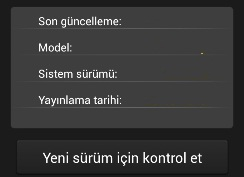 1.110 General Mobile Discovery Android Güncelleme