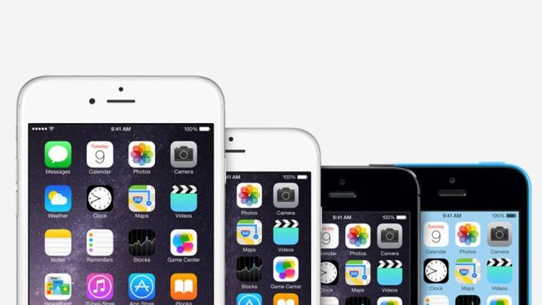 iPhone 1'den iPhone 6S'e tüm iPhone'lar!