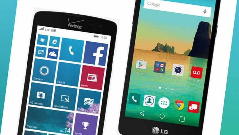 LG Lancet, Windows'tan sonra Android'li oldu!
