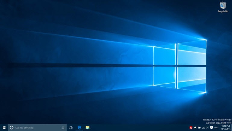 Son Windows 10 Insider Preview'da mavi ekran!